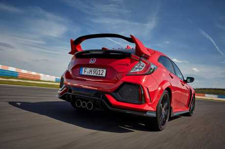 Honda's 2017 Civic Type R (overseas model shown.)