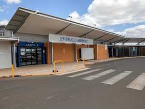 CUTTING CONGESTION: Emerald Airport free parking shortened to 30 minutes.