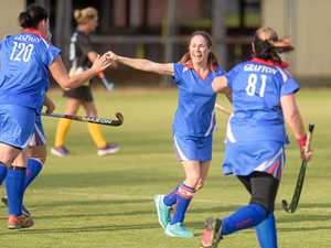 Women's masters hockey action fills Grafton