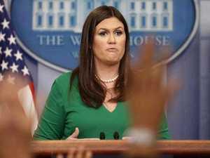 Trump's press spokesperson breaks first rule of television