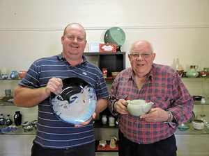 Prized pottery on show