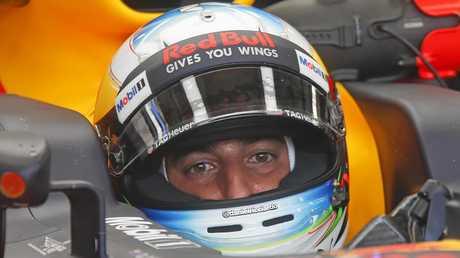 Red Bull driver Daniel Ricciardo of Australia.