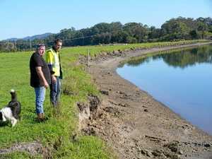 Newry Island's erosion control measures ready to roll
