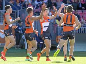 Giants' luck turns in defeat of Dockers