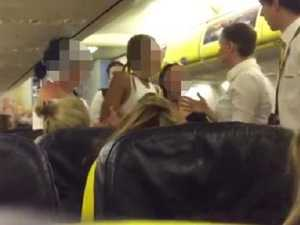 WATCH: Hen's party thrown off plane for drunken antics