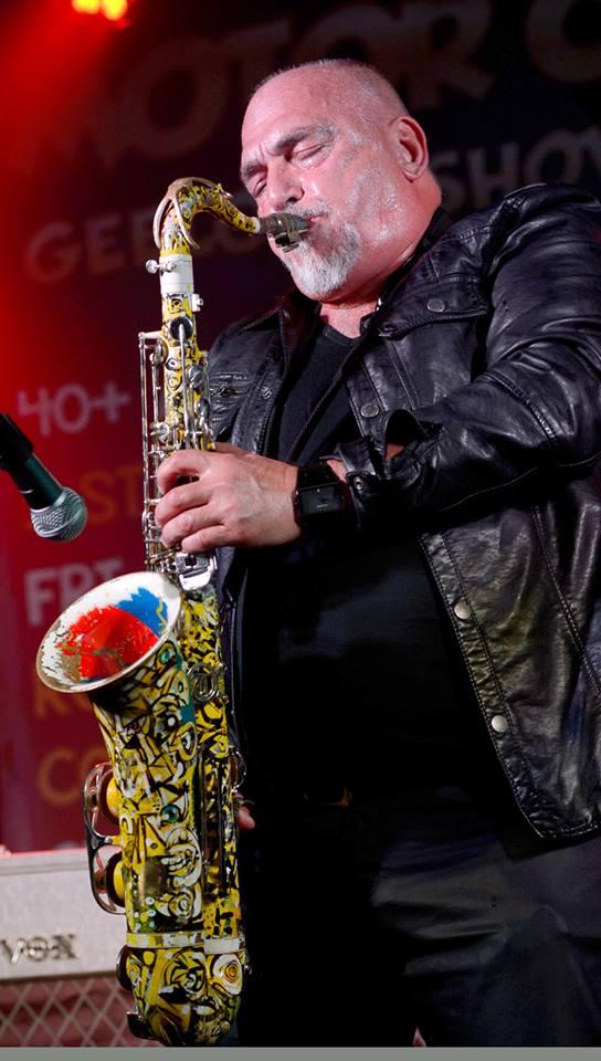 Camilleri's beloved sax that was stolen.