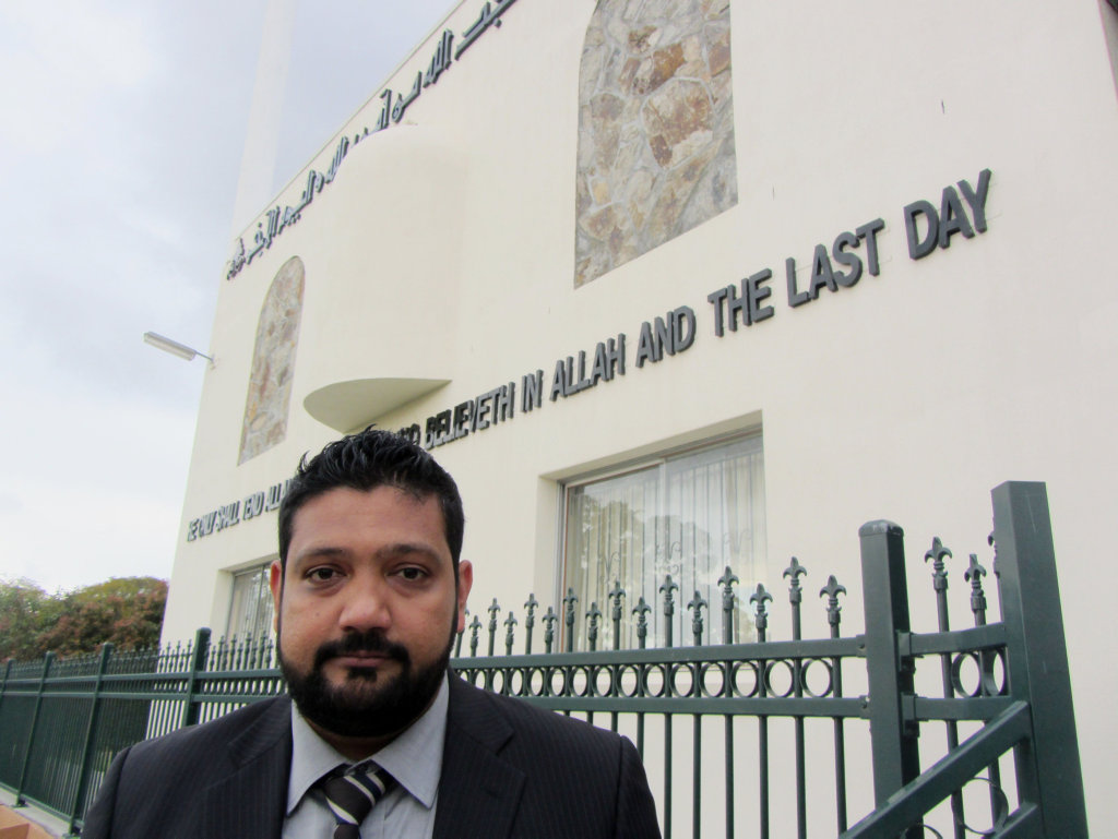 Ali Kadri from the Islamic Council of Queensland.