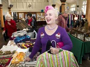 Vintage lovers 'Frock Up' at St Luke's Hall