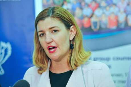 Child Safety Minister Shannon Fentiman.