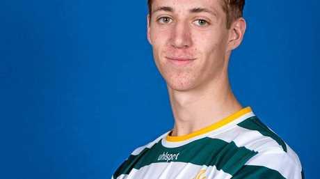 Western Pride footballer Mitch Bird