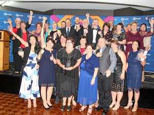 Local health heroes honoured at gala awards