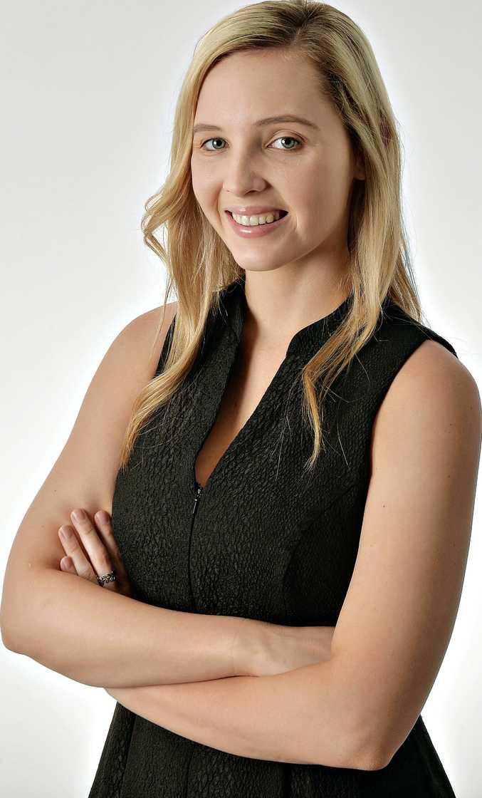 Sunshine Coast journalist Jorgia White.