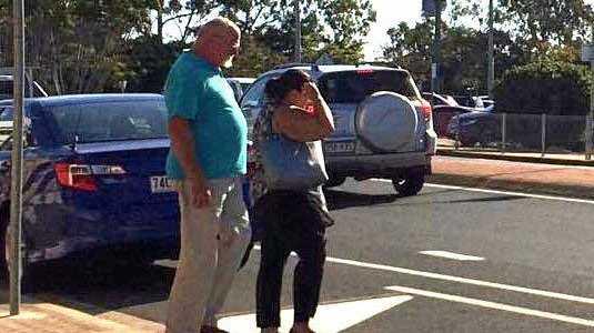 Ashlee Walker leaves Bundaberg court on Friday.