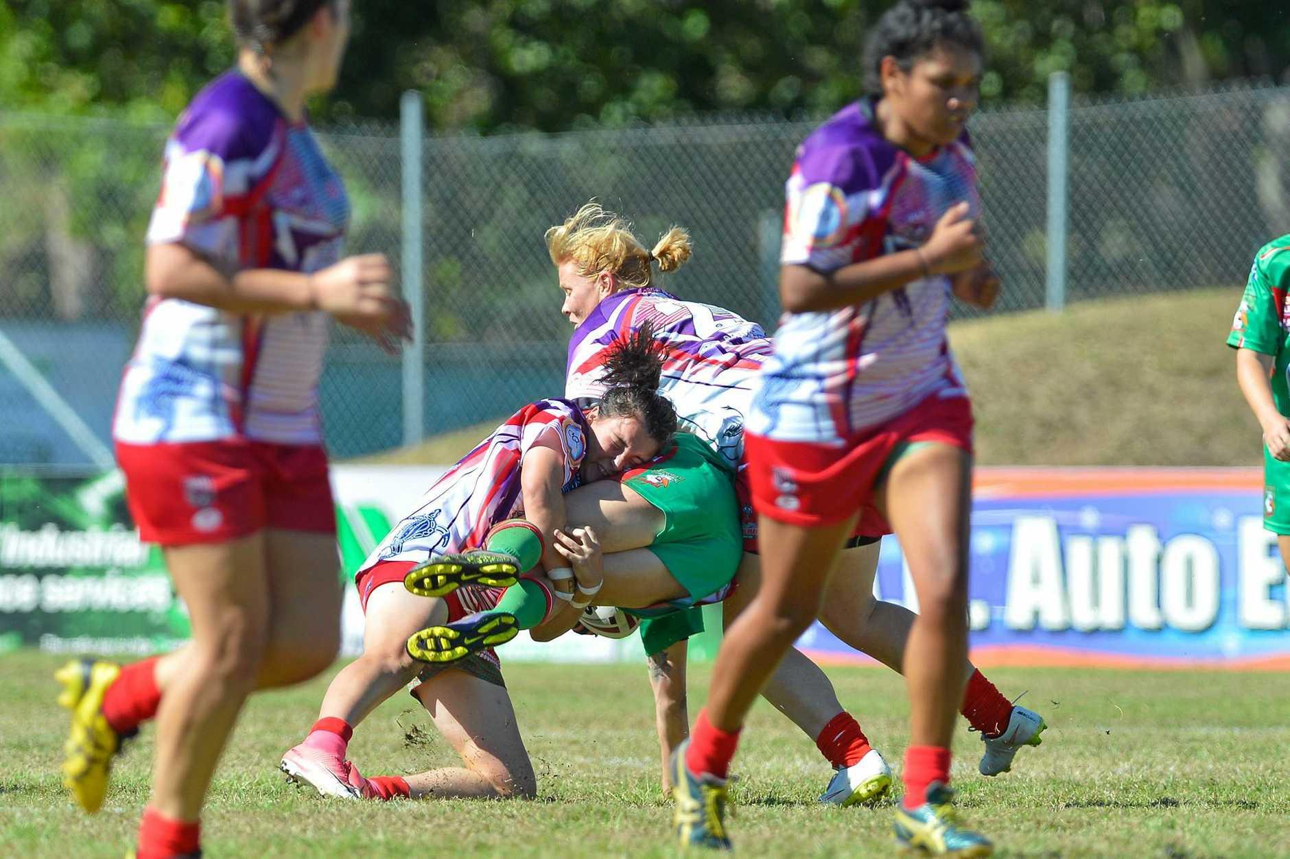 Womens Rugby League Grand Final 2017 - Emu Park vs Tannum Seagals.