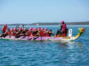 GALLERY: Dragon Boats light up Tin Can Bay waters