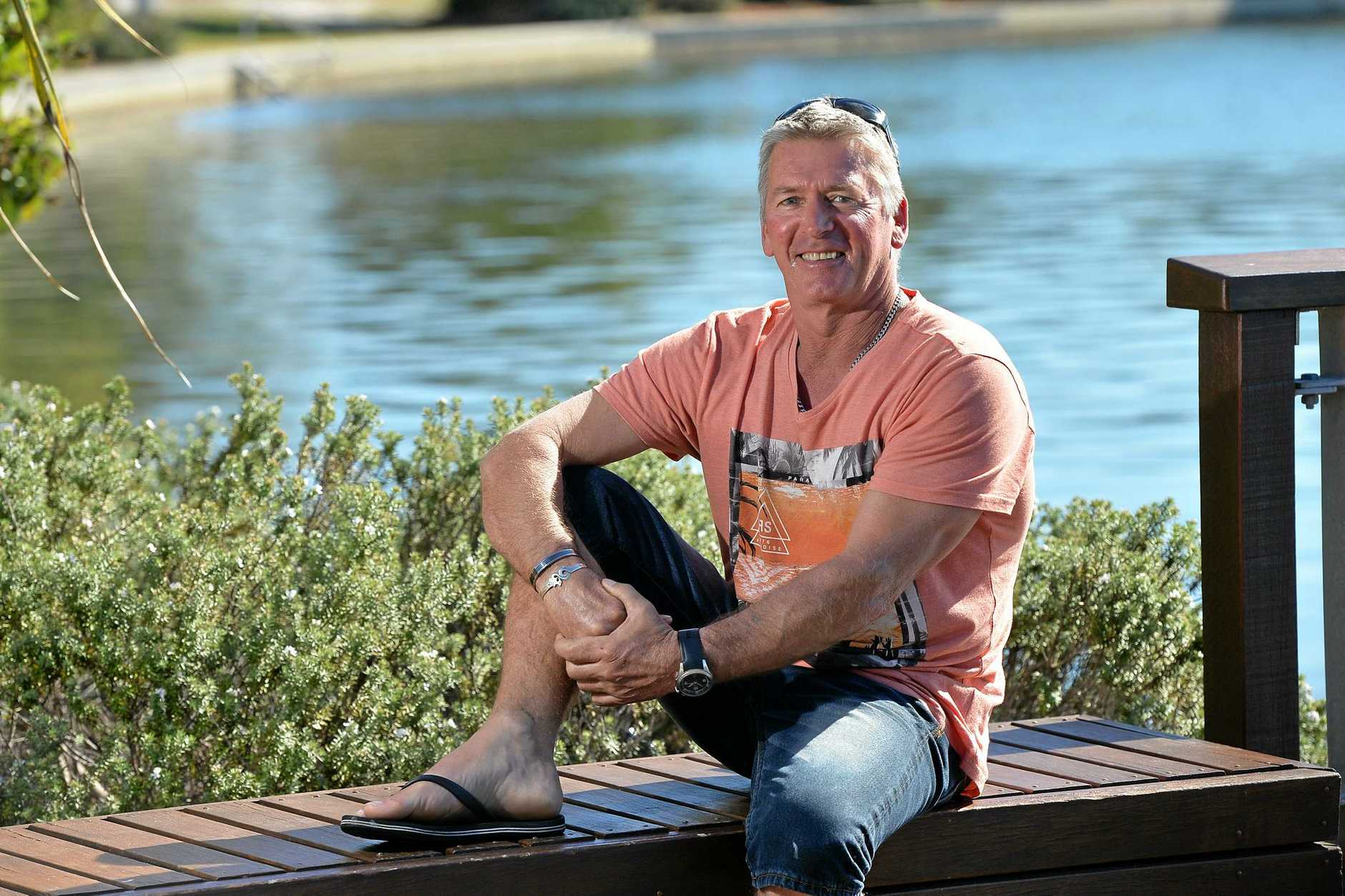 A LOT MORE LIFE TO LIVE: Tony Sullivan, a former lifesaver and IRB World Champion, has taken on the challenge to beat a diagnosis of terminal cancer by turning his diet and life upside down.