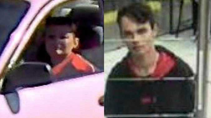 Two of the people Mackay police are looking for.