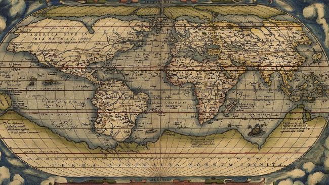 The Phantom Atlas tells of non existent islands AND PHANTOM LANDS