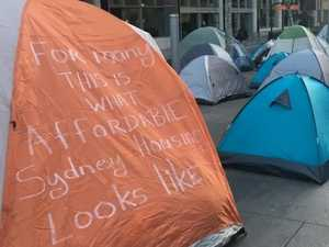 Sydney CBD's tent city: The housing crisis is worsening