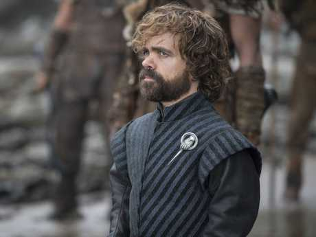 Peter Dinklage in a scene from season 7 episode 3 of Game of Thrones.