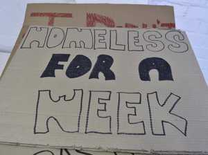 First night of Homeless for a Week
