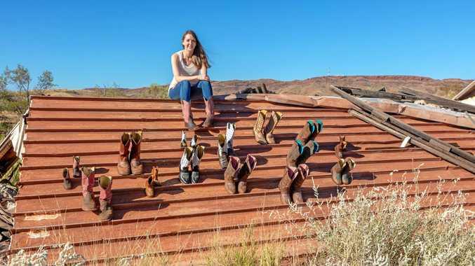 FINALIST: Kader Boot Co managing director Kara Lauder has been nominated for an AusMumpreneur Award.