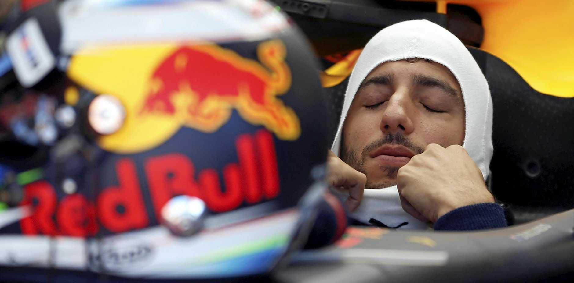 Red Bull driver Daniel Ricciardo of Australia