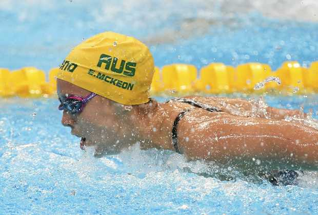 McKeon creates history for Australia in pool at worlds    McKeon creates history for Australia in pool at worlds