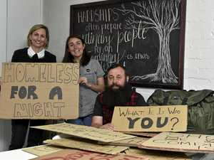 $40,000 raised before sleepout on city streets begins