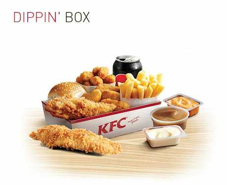 Dippin' Box as it appears on the KFC website.