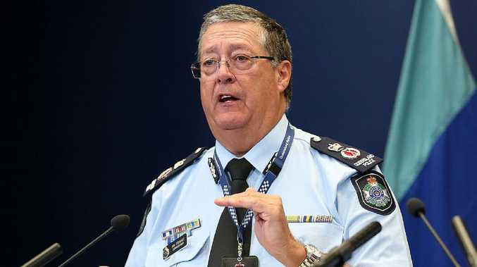 Ian Stewart will continue as Queensland Police Commissioner for another three years. File picture