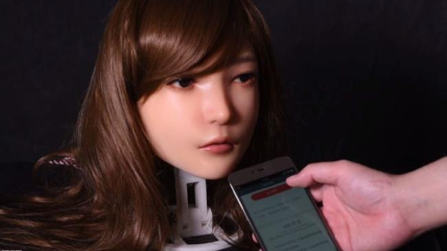 DS Dolls have completed a prototype of a robotic sex doll capable of facial expressions.