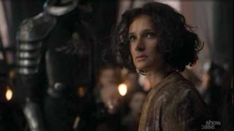 Indira Varma in a scene from season 7 episode 3 of Game of Thrones.