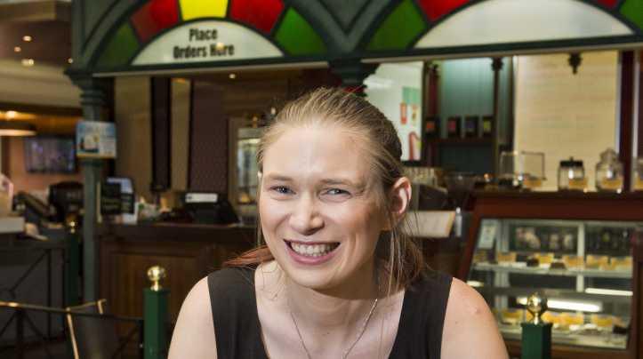 Toowoomba Sports Club catering supervisor Nadine Ireland in the club's Zest Restaurant.