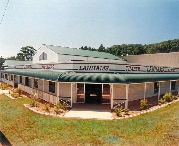 Lanham's headquarters in 1991.