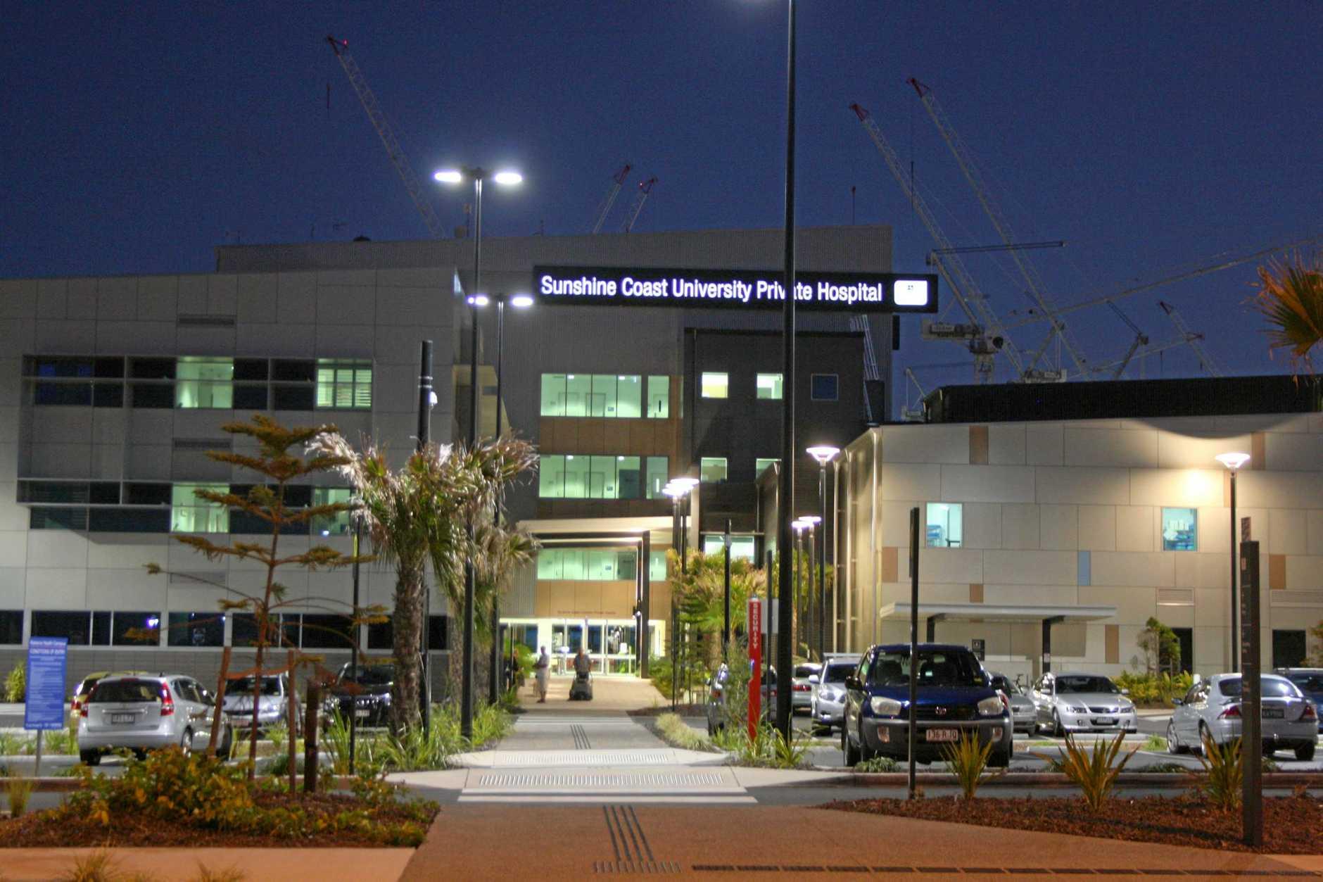 The new Sunshine Coast University Private Hospital.