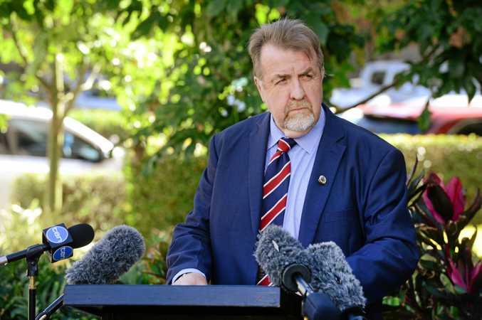 Ipswich Acting Mayor Paul Tully
