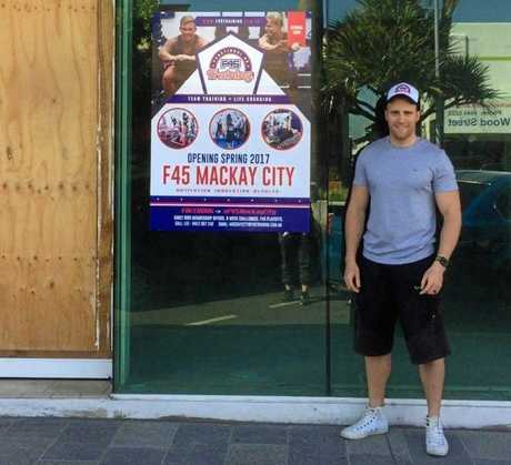 OPENING DAY: F45 owner Lee Renshaw has announced the new club will open in September.
