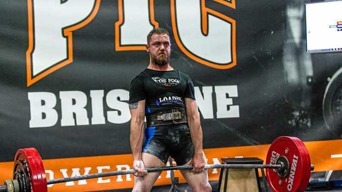 Ace Kirkwood competing in 2015 in Brisbane.