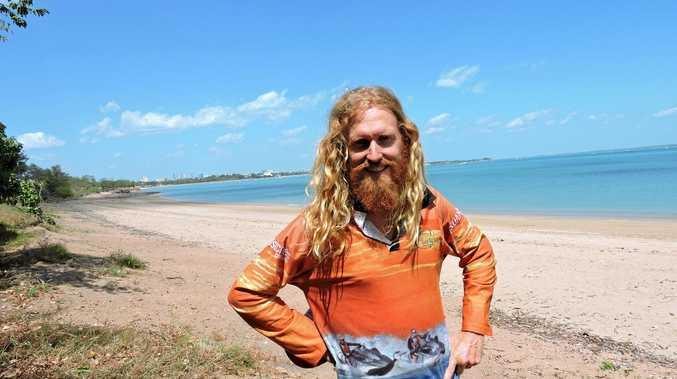 RUNNER: Ben Ferris, aka Ferris Gump, in Darwin LAST YEAR. Photo Mark Wilton / Rural Weekly