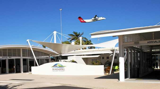The Bundaberg Airport.