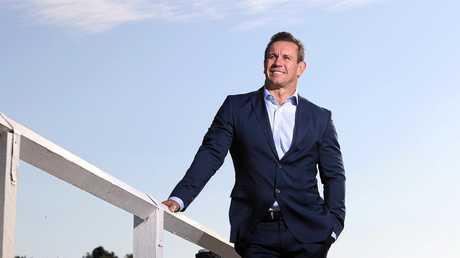 Former NRL star and current Fox League presenter Matthew Johns.