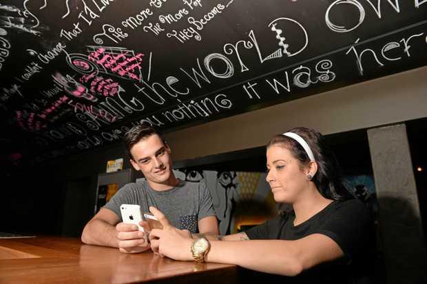Ben Matthews and Courtney Bryant on Tinder  Photo Tony Martin / Daily Mercury