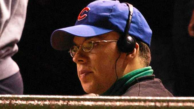 Chicago Cubs fan Steve Bartman in the stands at Wrigley Field in 2003.