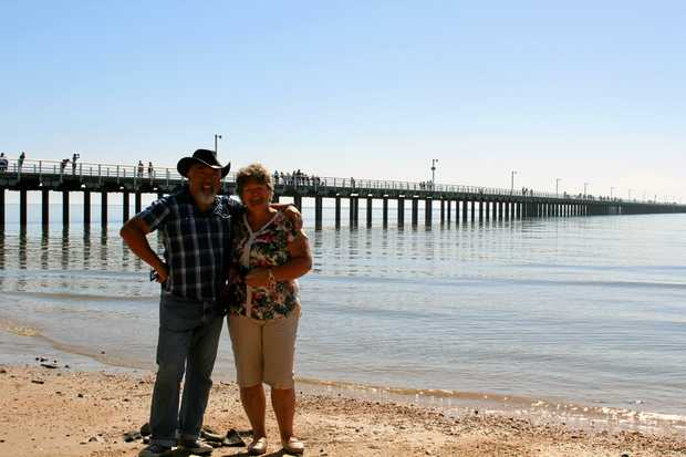 NO REGRETS: Mason and Wendy Wong are loving their move to Hervey Bay.