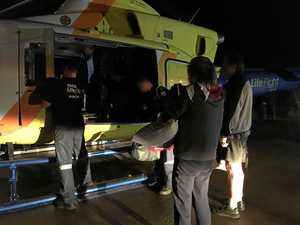 DOUBLE RESCUE: Two airlifted off Fraser Island overnight