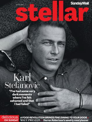 Stefanovic on the cover of Stellar's July 23 edition.