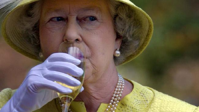 Queen Elizabeth II drinks four cocktails a day.