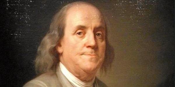 LOUD AND PROUD: US President Benjamin Franklin. October 18, 1785 - November 5, 1788.