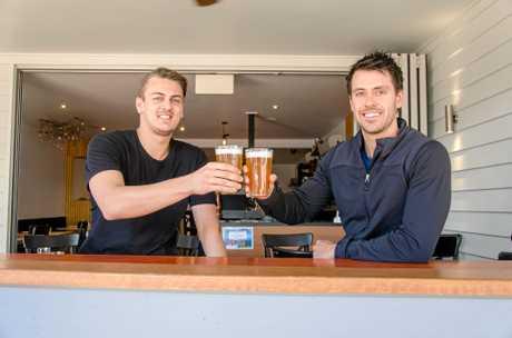 Rhys Greedy and Sam Pregnell at CORB-NS.